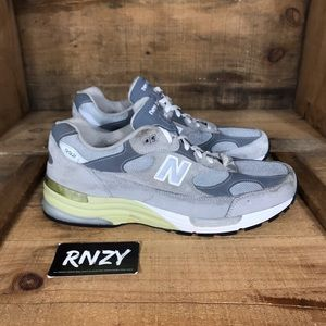 New Balance 992 Suede Made In USA